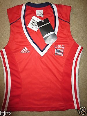 US United States Soccer World Cup adidas Jersey Womens SM Small S New