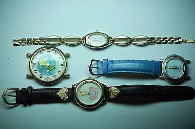 PETER THE RABBIT AND PRECIOUS MOMENTS WATCHES