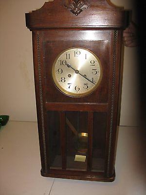 Antique Gustav Becker German Wall Clock