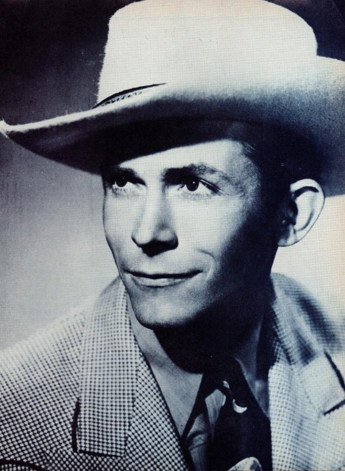 Hank Williams 1 Page Clipping