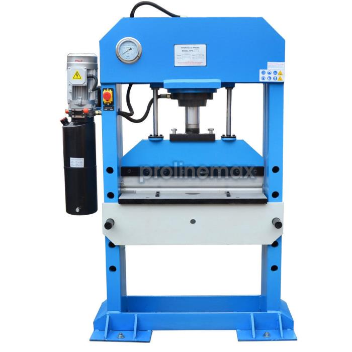 Electric 50 Ton Hydraulic Shop Press Brake Bender Bending 3 Phase 220 Volt