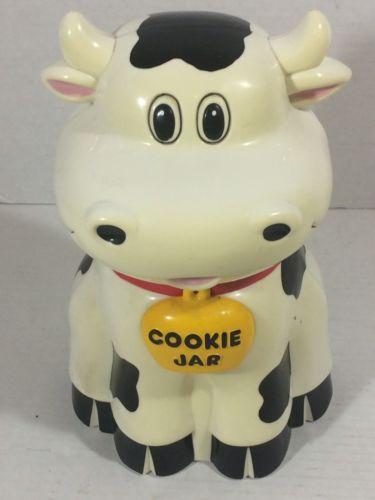 Cow Cookie Jar Mooing Sounds 1992 Fundamental Too LTD