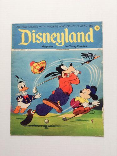 1974 Disneyland Magazine for Young Readers No. 92 Goofy Golf Mickey Disney
