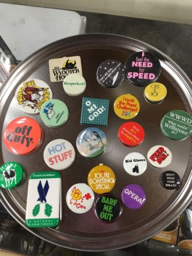 Jack Daniels And Misc Funny Pinback Lot