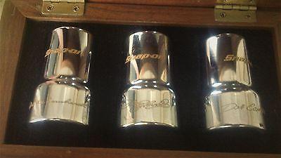 SNAP-ON EARNHARDT Ralph Dale & Jr 24K gold Engraved Lug Nut socket Set