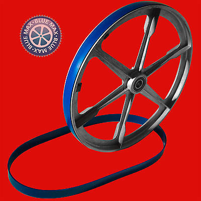 2 BLUE MAX ULTRA DUTY URETHANE BAND SAW TIRE SET FOR K and F YHW-104A BAND SAW