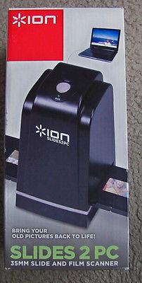 ION Slides 2 PC USB Scanner - Negative Film Scanner 35mm