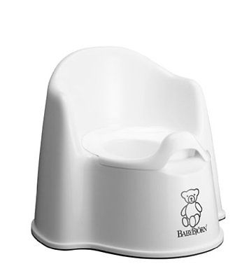 BABYBJORN Potties Seats Potty Chair, White