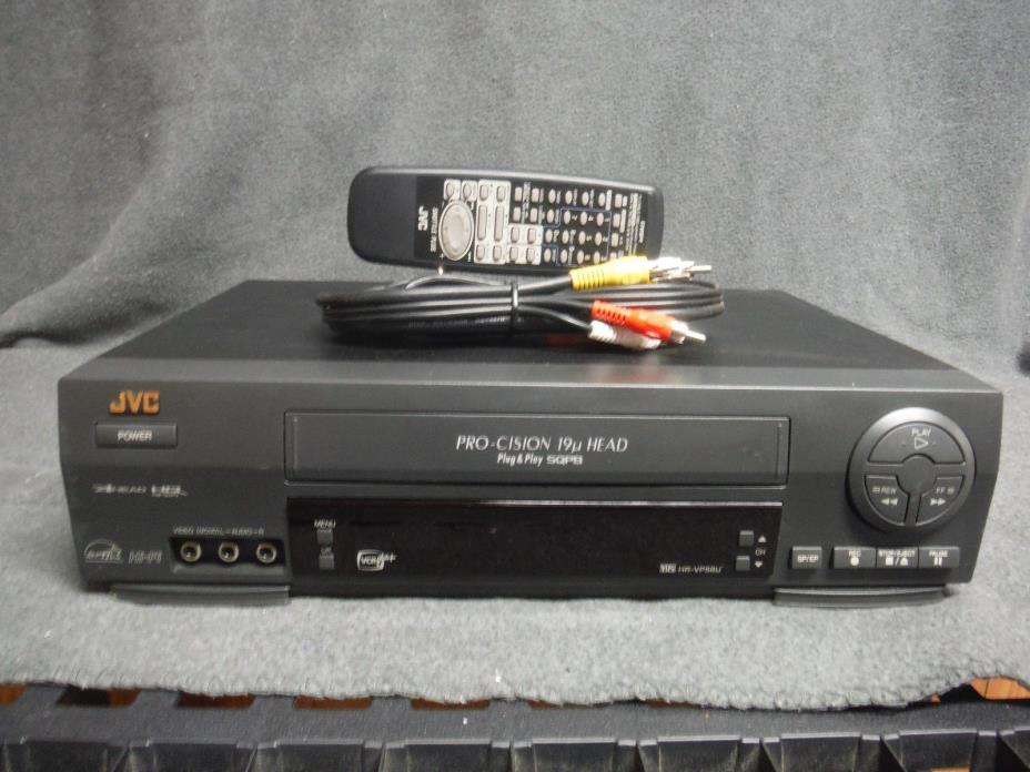 JVC HR-VP58U VCR With Remote Fully Refurbished and Tested.