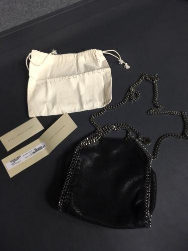 100% Authentic Stella McCartney Tiny Falabella Bag Black