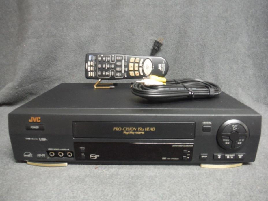 JVC HR-V682U VCR With Remote Fully Refurbished and Tested.