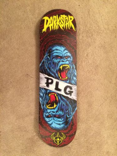 Dark Star Skateboards Plg Deck With Mob Grip Tape