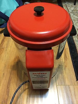 SafGard Pres-Vac Home pasteurizer (needs inlet and outlet hose)
