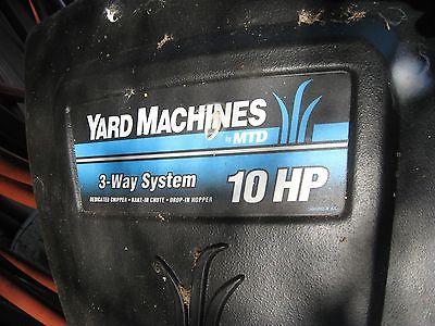 MTD Yard Machines 10 HP Wood Chipper