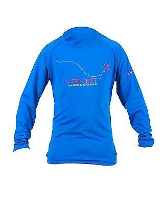 Kid's Yankit HARD Performance Fishing Shirt (Blue)