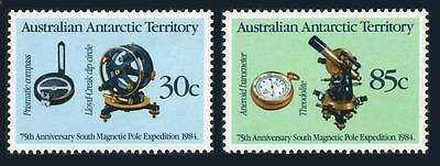 Australian AT L57-58,MNH.Michel 61-62. South Magnetic Pole Expedition-75,1984.