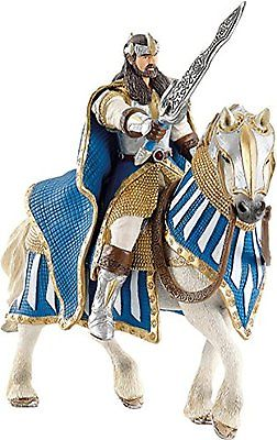 Schleich Accessories Griffin Knight King On Horse Toy Figure