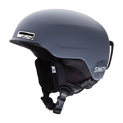 Smith Maze Men's Ski / Snowboard Helmet Matte Charcoal Small 51-55cm