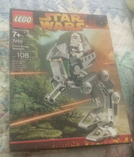 Lego Star Wars CLONE SCOUT WALKER #7250 **MIB**