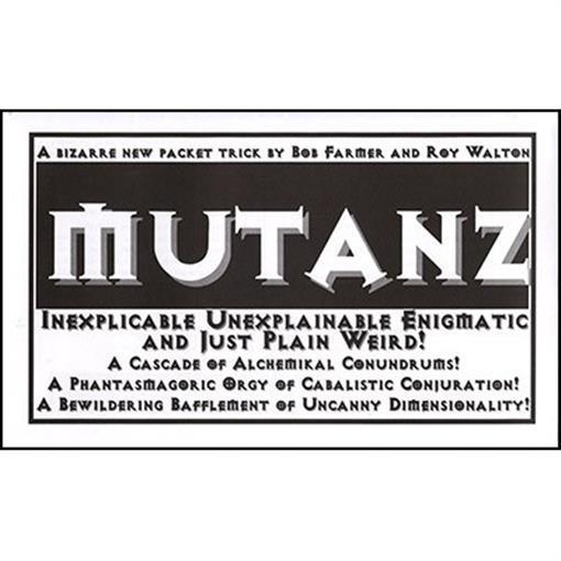 Mutanz by Bob Farmer - Trick - Magic Tricks