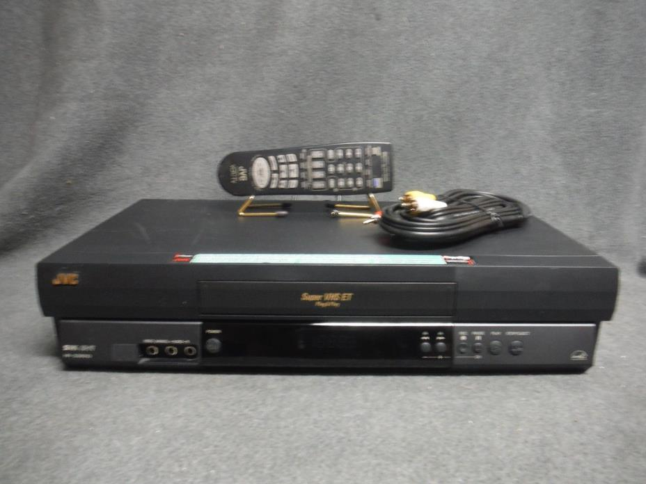 JVC HR-S2901U VCR With Remote Fully Refurbished and Tested.