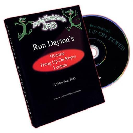 Hung Up On Ropes by Ron Dayton - DVD - Magic Tricks