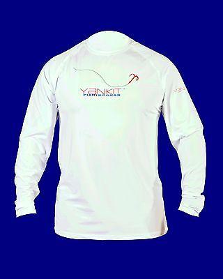 Yankit HARD Performance Fishing Shirt (White)