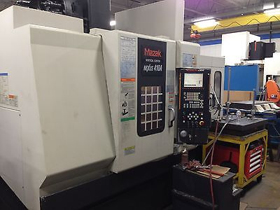 MAZAK NEXUS VCN 410A VERTICAL MILLING MACHINE  2 PALLET CNC MACHING CENTER  2003