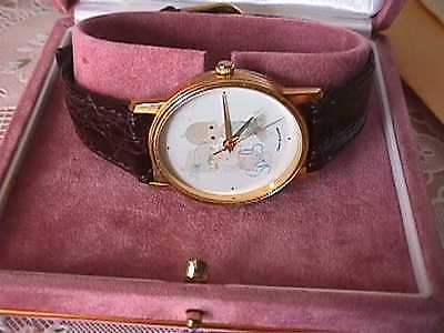 Precious Moments SAM BUTCHER limited edition WATCH #12/100 signed by SAM B