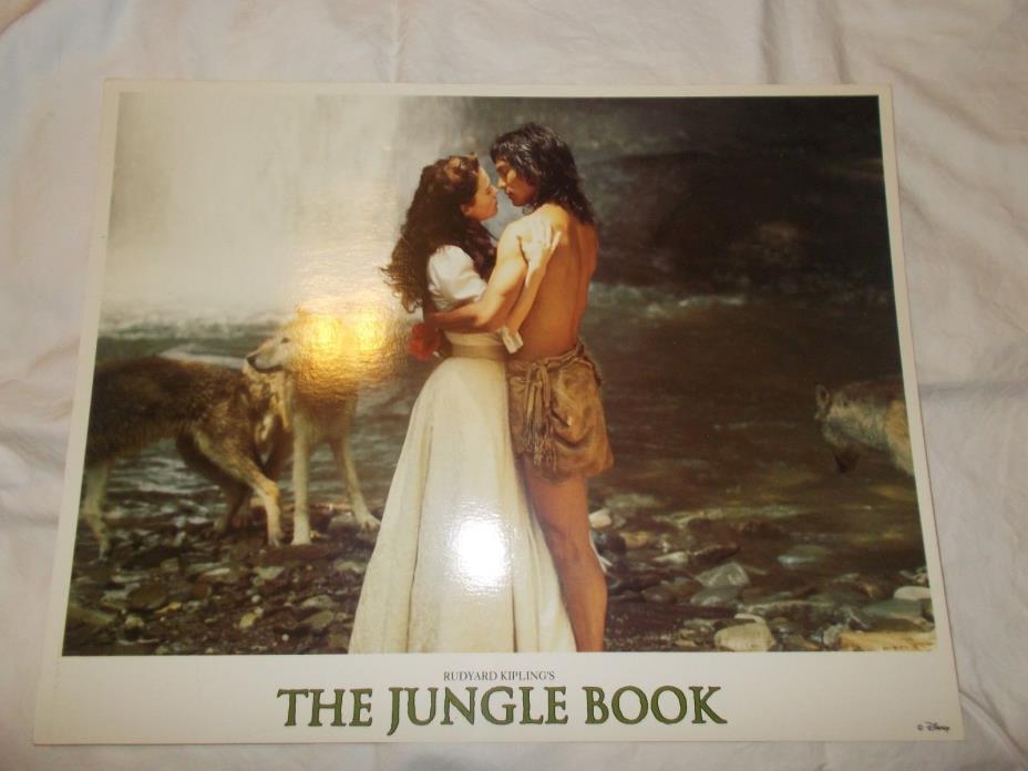 Disney's Rudyard Kiplings the Jungle Book Lobby Card Set