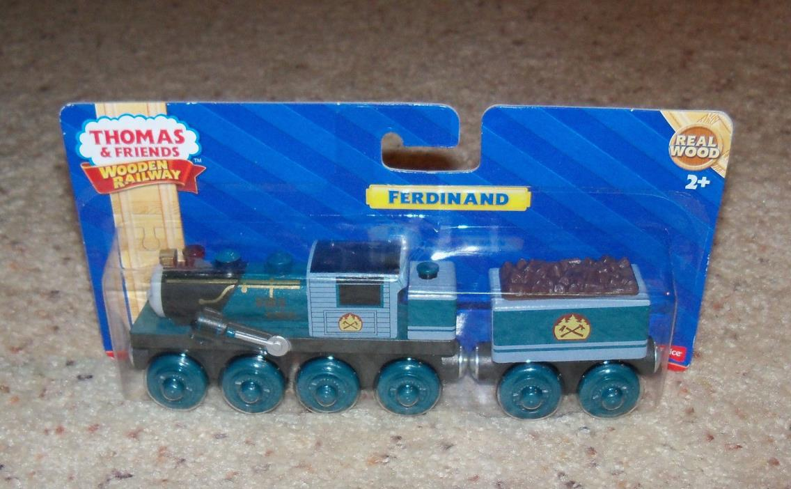 NEW IN BOX Thomas Train Wooden Ferdinand, Wood Car Set