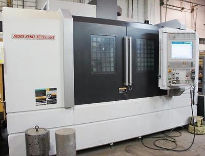MORI SEIKI NV-7000/50 4TH AXIS CNC VERTICAL MACHINING CENTER