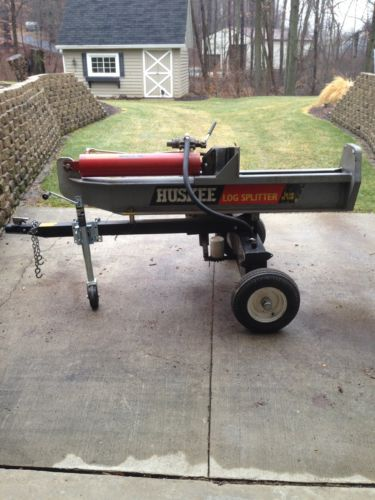 Huskee 35 Ton Log Splitter Trailer Wood