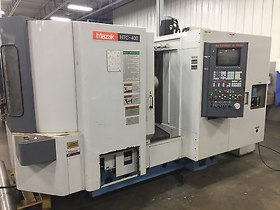 MAZAK HTC-400 HORIZONTAL MACHING CENTER 1998 PARTING OUT FOR PARTS / MAKE OFFER