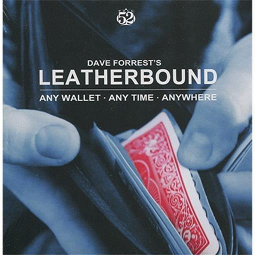 Leatherbound by Dave Forrest - Trick - Magic Tricks