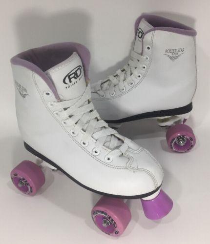 Roller Derby Roller Star Women's Quad Skates Size 5 White