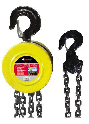 1 Ton Chain Lift Hoist 10 Foot Lift Hook Mount Engine