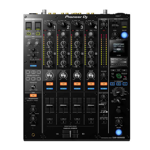 Pioneer DJM-900NXS2 4-Channel 12-inch Digital Pro-DJ Mixer New