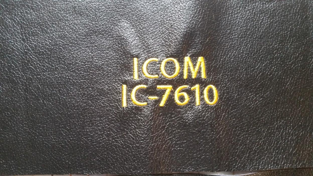 Icom IC-7610 Ham Radio Amateur Radio Dust Cover