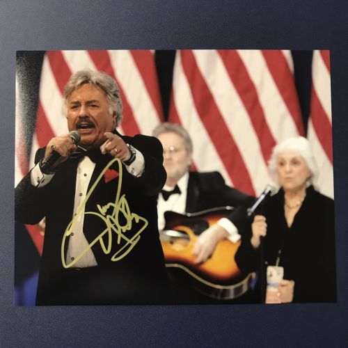 TONY ORLANDO HAND SIGNED 8x10 PHOTO AUTOGRAPHED SINGER ACTOR MUSICIAN W/ PROOF!