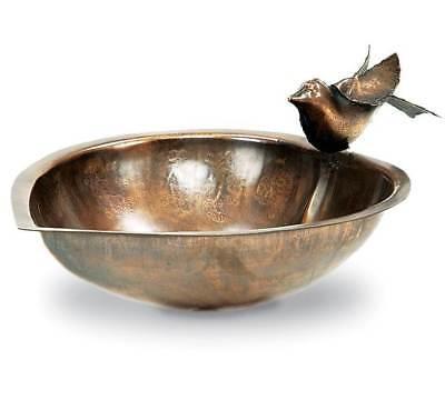 Birdbath & Feeder w Heart Shape [ID 3089]