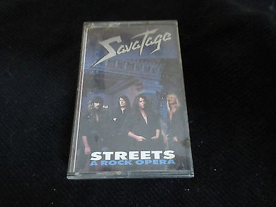 Vintage Cassette Savatage Streets  Check Out Our Many Other Tapes