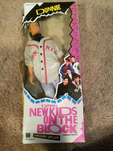 """New Kids On The Block """"Donnie"""" Doll  1990"""