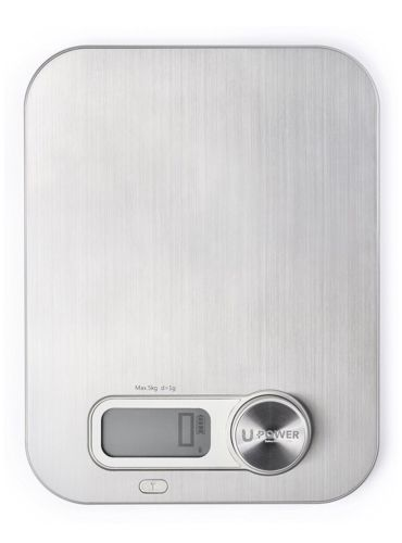 Ellessi Digital Food Scale. BATTERY FREE Kitchen Scale 11lb 5kg. No batteries...