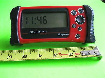 SNAP ON Solus Pro Miniature Desk Clock