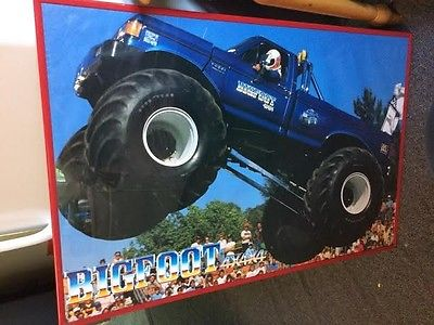 BIGFOOT MONSTER TRUCK POSTER
