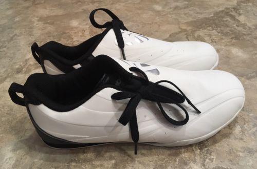 Mooto Men's Tae Kwan Do Shoes TKD White Black 9