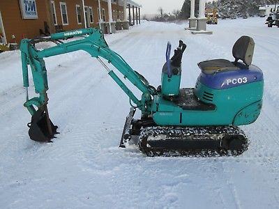 Komatsu PC03-2 Farm Tractor Dozer Mini Excavator