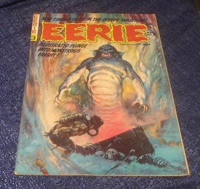 EERIE #3 Magazine Frank Frazetta 1966 Warren Classic Horror Comic Steve Ditko