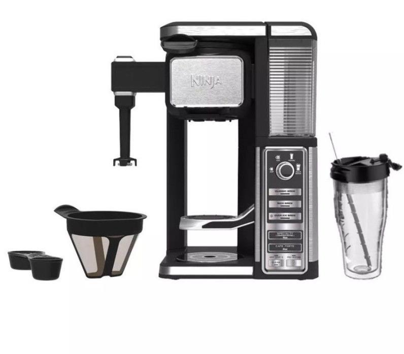 NINJA COFFEE BAR SINGLE SERVE SYSTEM AUTO-IQ (CF110)
